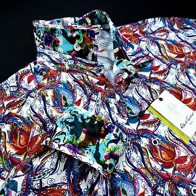 £116.20 • Buy Robert Graham Embroidered Floral Print $298 NORTHCHASE Paisley 2XL Sport Shirt