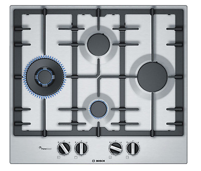 £159.99 • Buy Bosch Series 6 PCI6A5B90 60cm 4 BURNER Gas Hob  LONDON COLLECTION ONLY