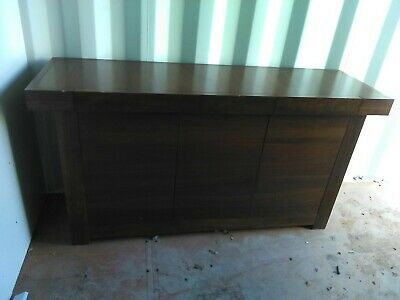 £150 • Buy John Lewis Dark Solid Wooden Sideboard. Collection Only NE16.
