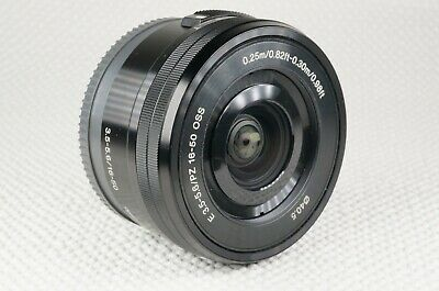 AU202.29 • Buy Sony SELP1650 16-50mm F/3.5-5.6 PZ OSS Lens - With Caps - Sony E Mount