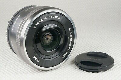 AU220.67 • Buy Sony SELP1650 16-50mm F/3.5-5.6 PZ OSS Lens Silver - With Caps - Sony E Mount