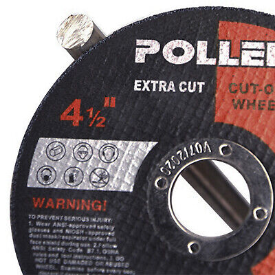 £13.67 • Buy 50 X 115mm 4.5  ULTRA THIN METAL CUTTING BLADE DISC 1/2  STEEL&STAINLESS 1MM UK
