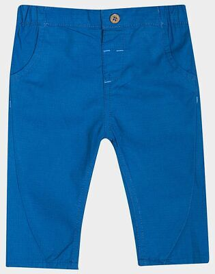 £6.99 • Buy New Ex Boden Baby Boys Colourful Blue Chino Trousers 0-3-6-9-12-18-24 Months