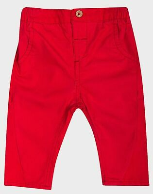 £5.99 • Buy New Ex Boden Baby Boys Colourful Red Chino Trousers 0-3-6-9-12-18-24 Months