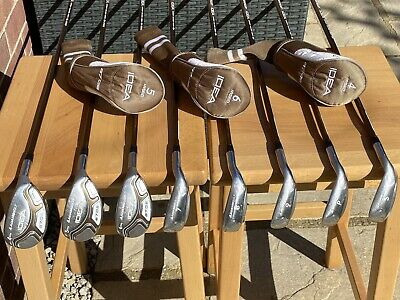 AU448.72 • Buy Adams Idea A7OS Irons 7-SW And 4-6 Hybrids Ladies Flex Shafts With New Grips
