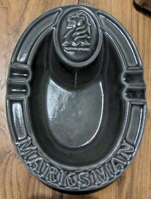£12.95 • Buy Marksman Lager Ashtray Mansfield Brewery Home Bar Man Cave
