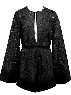 AU100 • Buy Brand New Alice McCall My One And Only Playsuit Black - AU6