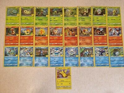 AU7.39 • Buy POKEMON CARDS 25th ANNIVERSARY MCDONALDS / Pick Your Own / Holo And Non Holo Set