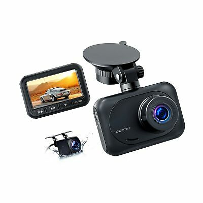 AU96.18 • Buy Dash Camera For Cars 1080P Full HD Dual Dash Cam Front And Rear, 2.45  IPS Sc...