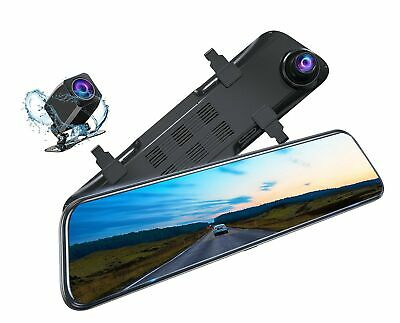 AU291.87 • Buy Kingslim DL12 Pro 4K Mirror Dash Cam, 12  Front And Rear Dash Camera For Cars...
