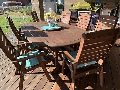 AU800 • Buy Wooden Outdoor Setting