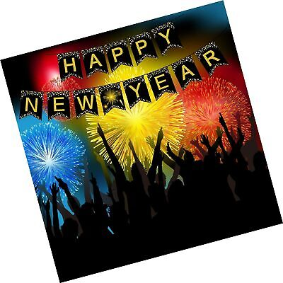 £6.93 • Buy Happy New Year Banner Decorations - New Years Eve Party Supplies 2022 | Garla...