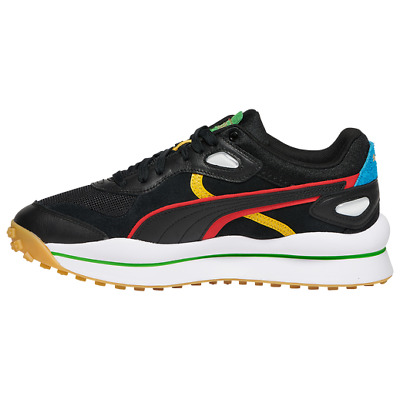 AU113.49 • Buy Puma Street Rider WH Men's Shoes Size 10 Black/Hi Risk Red/Classic Green NEW
