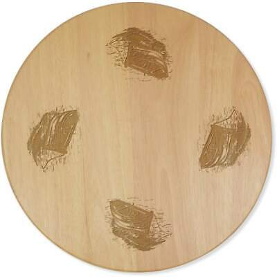 £24.99 • Buy 'Wooden Boat' Lazy Susan Rotating Turntable (LA00008092)