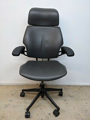 £450 • Buy Humanscale Freedom Chair HighBack/Headrest Free Delivery