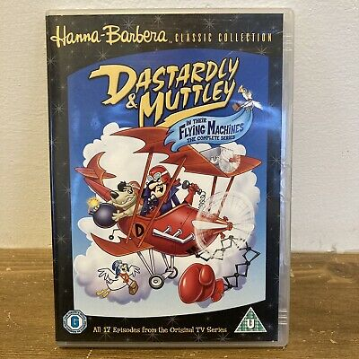 £14.95 • Buy Dastardly And Muttley The Complete Collection DVD 2006 Classic Hanna Barbera