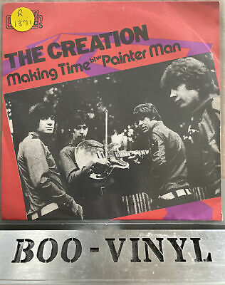 """£14.99 • Buy The Creation - Making Time Rare Psychadelic Rock 7"""" Vinyl Record NM / VG+"""