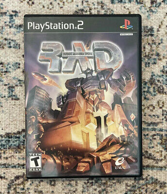 £130.70 • Buy RAD Robot Alchemic Drive PS2 Video Game Sony PlayStation 2 Complete RARE CIB