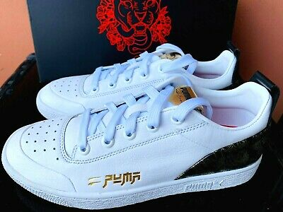 AU80.10 • Buy Puma Ralph Sampson Low Speed Tribes Men's Shoes Size 9.5 White/black/gold NEW