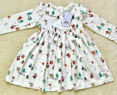£6.50 • Buy Next Christmas Long Sleeved Tunic Dress Age 12-18 Months (Up To 86cm)