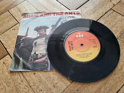 £3.49 • Buy Adam And The Ants Stand & Deliver 7  Vinyl Record Good Condition