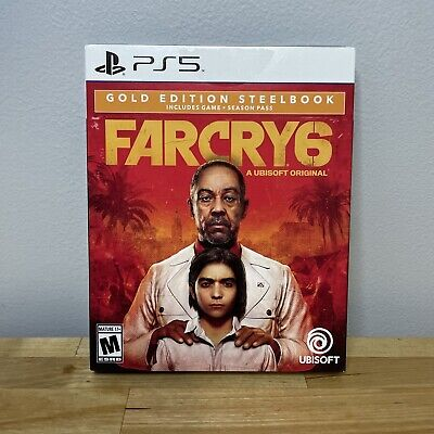 AU127.94 • Buy FAR CRY 6 (GOLD EDITION STEELBOOK & SEASON PASS) For PS5 Playstation 5