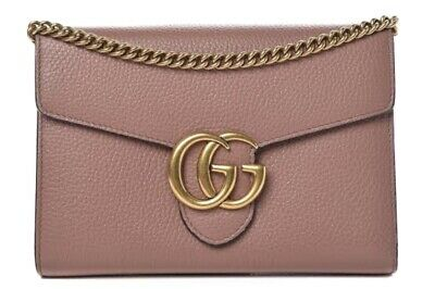 AU1500 • Buy Gucci Marmont Wallet On Chain - Rose