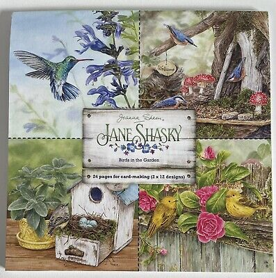 £3 • Buy Joanna Sheen And Jane Shasky - Birds In The Garden Paper Pad