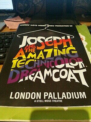 £5 • Buy JOSEPH AND THE AMAZING TECHNICOLOR DREAMCOAT Musical Theatre Programme SCHOFIELD
