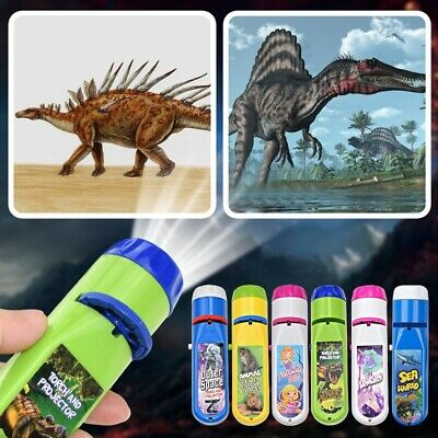 £6.18 • Buy Children Projector Torch Learning Night Light Projection Light Kids Educational