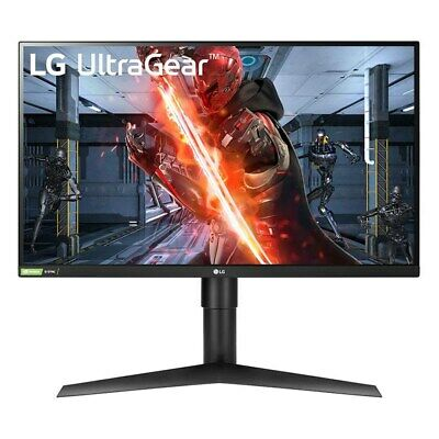 AU533.90 • Buy LG 27  27GL83A  2K QHD 144Hz 1ms HDR G-Sync Compatible HDMI IPS Gaming Monitor