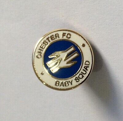 £3.49 • Buy CHESTER CITY FC Football Club Badge Enamel Non League Pin SMALL BABY SQUAD 4