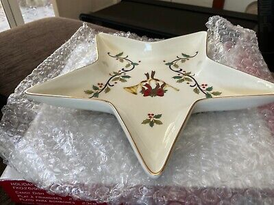 AU14 • Buy MIKASA HOLIDAY BLOOM 23cm CANDY DISH Brand New In Box Unwanted Gift Undamaged