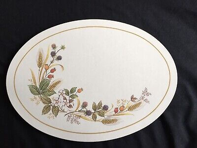 £8.99 • Buy Marks And Spencer Harvest Pattern Oval Pot Stand