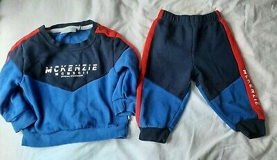£3.50 • Buy Baby Boys Mckenzie Tracksuit 12/18 Months Excellent Condition