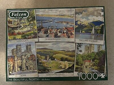 £3 • Buy Falcon Deluxe 1000 Piece Jigsaw. The Beautiful North. Complete