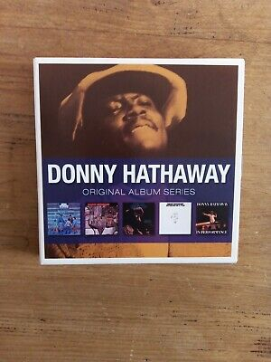 £8.99 • Buy Donny Hathaway - Original Album Series (2010) CD X5 Everything Is Everything Etc