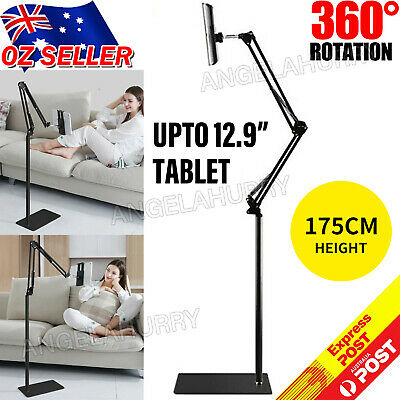 AU28.85 • Buy Adjustable Hands Free Floor Stand Bed Clip Holder For Tablet IPad IPhone NEW