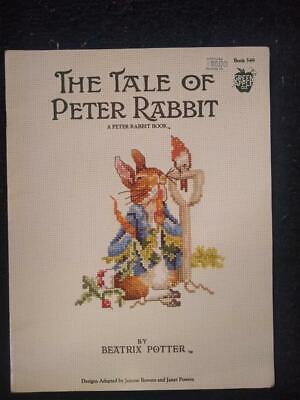 £9.99 • Buy The Tale Of Peter Rabbit ( Green Apple - Includes 12 Cross Stitch Charts) 1993