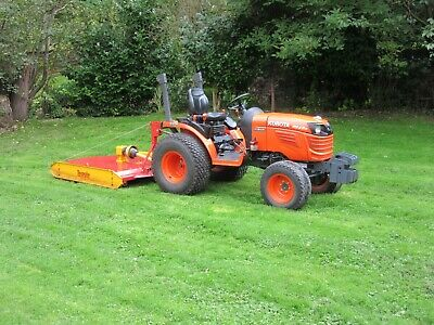 £9000 • Buy Kubota B2420 Compact Tractor / Topper / Low Only 221hrs No Vat To Add