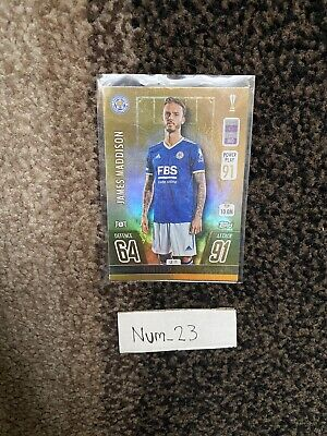£1.40 • Buy Match Attax 21/22 Limited Edition (GOLD) James Maddison LE 11