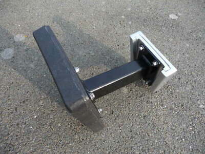 AU210.08 • Buy Detachable Outboard Motor Bracket. 9  Stand Out,with Aluminium Shoe.upto7HP