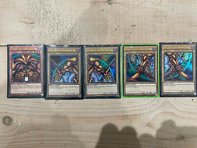 £19 • Buy Yu-Gi-Oh Exodia The Forbidden One Ultra Rare YGLD 5 Card Set 1st Edition