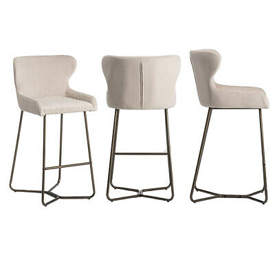 £139.99 • Buy Bar Stool Easy Assembly   6 Colours   Diamond Stitched   Neptune Barstools  