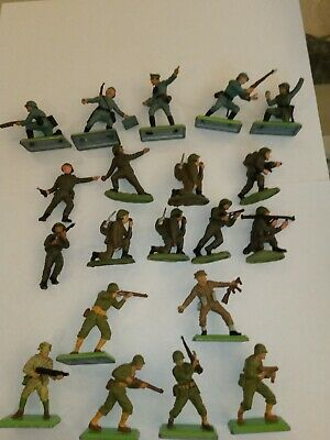 £5.90 • Buy Deetail Toy Soldiers,plus Some Made For Britains In Hong Kong ,20 In All