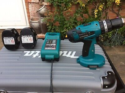 £35 • Buy Makita 8391d 18v Cordless Combi Drill, 2 Batteries, Charger And Case