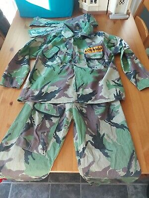 £0.99 • Buy Children's Halloween Dress Up Action Man Army Camouflage