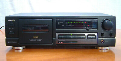 £50 • Buy Aiwa AD-F460 Stereo Cassette Deck Hi-Fi Player Recorder Dolby B-C NR * NEW BELTS