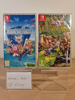 £5.90 • Buy Trials Of Mana + Collection Of Mana Nintendo Switch Vf Neuf Fr Fra