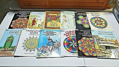 AU36.37 • Buy Dover Coloring Books Adult Coloring Book Lot Of 12 New Dover Publications